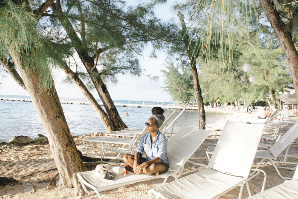 Au Courant Daily Journal | On returning to the sea and appreciating the bounties of Island Life at Rum Point, Grand Cayman