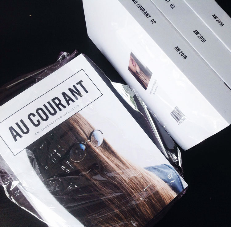 Au Courant Vol. 02 in print